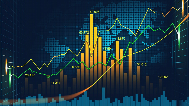 График роста на рынке