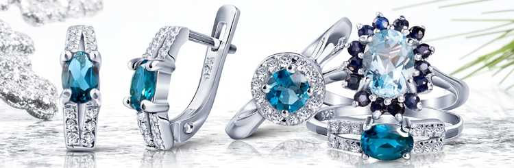 Драгоценности из серебра