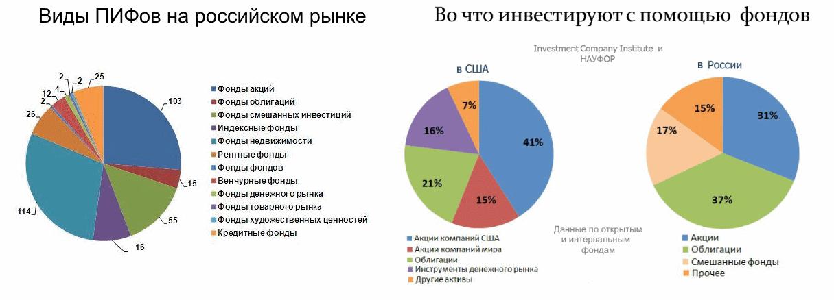 Виды пифов в россии
